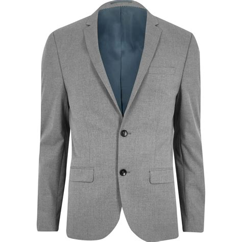 Jaket New Style Jaket Warna Hitam Jaket High Quality light grey fit suit jacket suits sale
