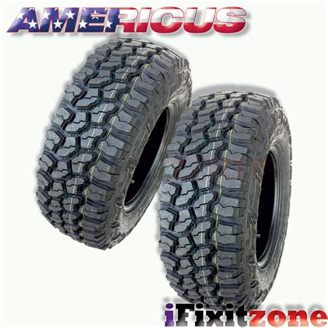 rugged all terrain tires 1 americus rugged mt lt265 70r17 121 118q e 10 all terrain mud tires ebay