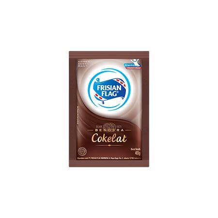 Frisian Flag Coklat Sachet kental manis coklat bendera frisian flag indonesia