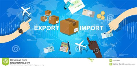 Study Guide For International Trade And The World Economy export import global trade world map market international stock photo image of logistics