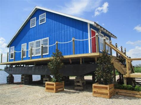 floating home   gorgeous makeover louisiana flip