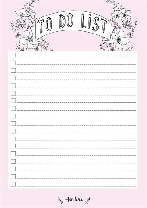 printable to do list planner 17 best images about lined paper on pinterest journal