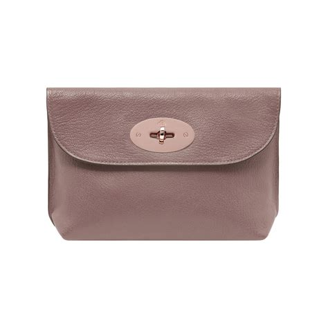Mulberry Locked Purse by Lyst Mulberry Locked Cosmetic Purse In Pink