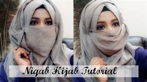 tutorial hijab pesta india niqab tutorial very easy to wear hijab style india