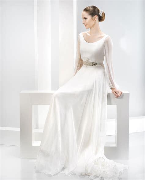vestido novia ibicenco con manga vestidos de novia corte sirena el blog de ana suero