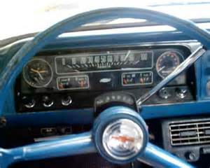 Truck Bed Bench Dash Steering Wheel Matraca 1965 Chevrolet C10 Step Side