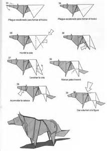 Easy Origami Wolf - origami wolf comot