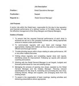 General Managers Description by Doc 728943 General Manager Description Generalmanagerjobdescription 75 Similar Docs