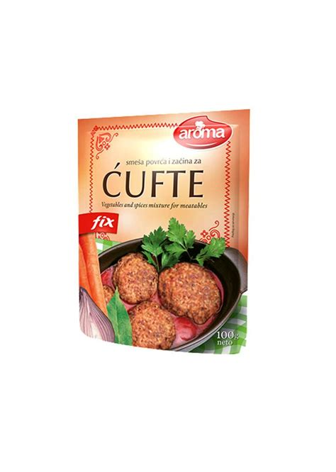 100g of vegetables aroma vegetable and spices mixture for meatballs 100g