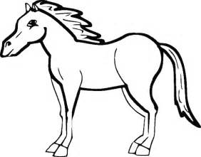 pics photos horse coloring pages