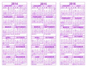 3 year calendar template 3 year calendars template trove the knownledge