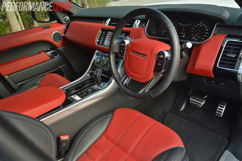 land rover autobiography red interior 2014 range rover sport autobiography v8 review video