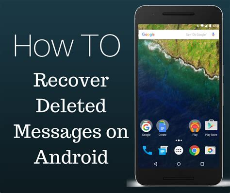 recover deleted android how to recover deleted messages on android etech hacks