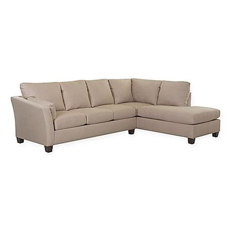 microsuede chaise lounge klaussner 174 drew 2 piece sectional sofa with left chaise in