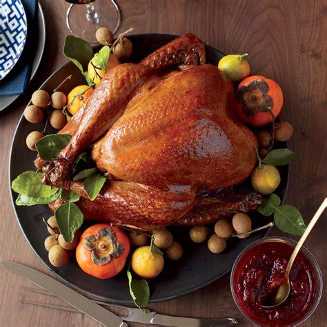 asian american thanksgiving food wine