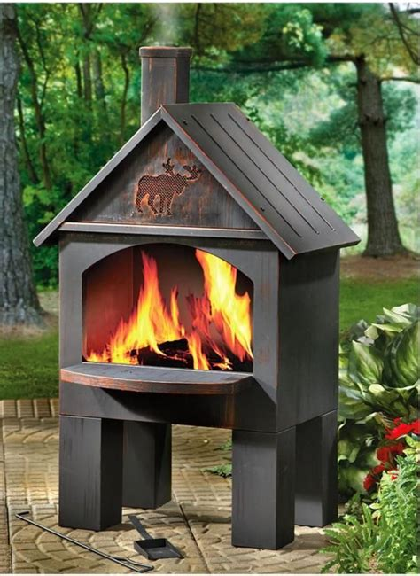 patio chiminea fireplaces outdoor chiminea