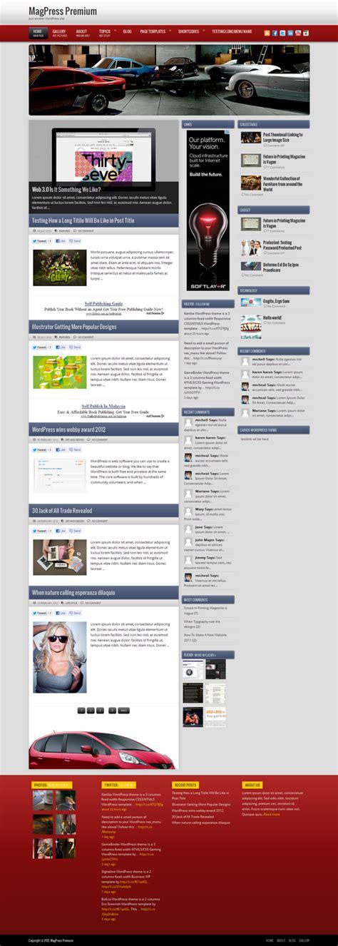 themes html5 wordpress carios wordpress theme magpress com