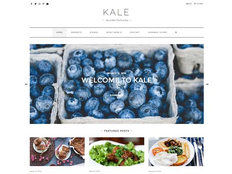 blogger themes food theme directory free wordpress themes