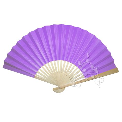 Orange Home Decorations by 10 Inch Violet Chinese Paper Fan