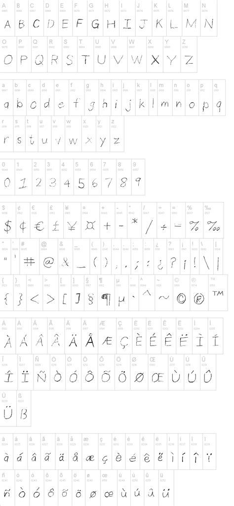 dafont pencil thin pencil handwriting font dafont com