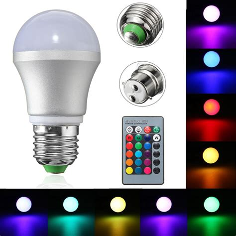 Led Lights Bulbs For Sale E27 B22 3w Dimmable Rgb Led Light Color Changing Bulb For Sale