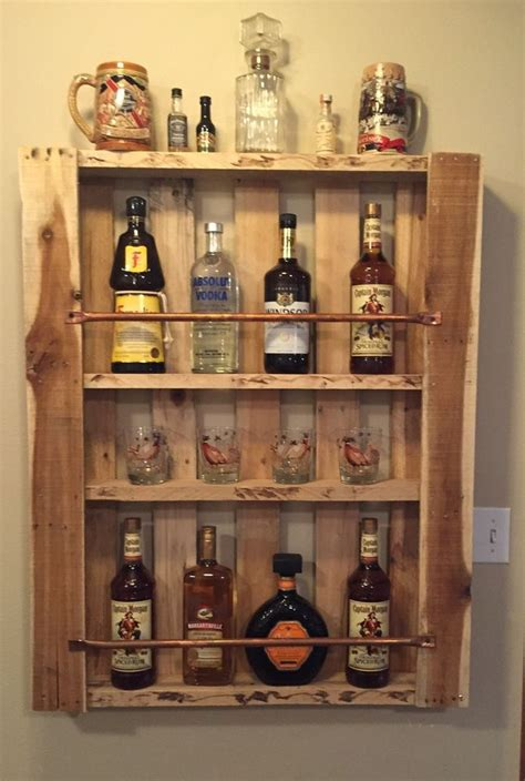 rustic home decor pallet furniture liquor cabinet mini bar