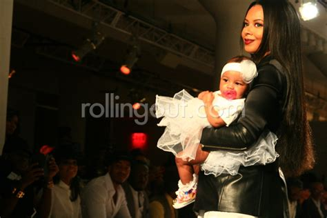vanessa simmons and daughter ava model her new sweet angela simmons debuts spring 2015 collection at style360