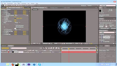 Tutorial After Effects Rasengan | rasengan tutorial in after effects youtube