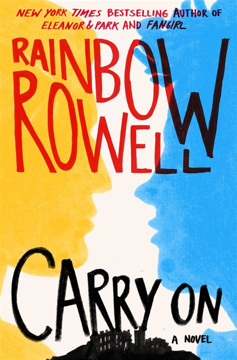 carry on carry on by rainbow rowell slj review library journal