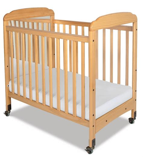Daycare Baby Cribs Foundations Serenity Fixed Side Compact Crib 1733040 Nurzery