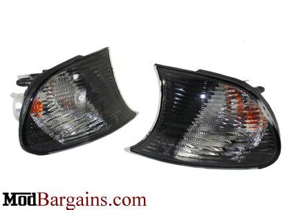 Clear Amp Smoked Corners For Bmw E46 M3 Turn Signals