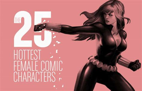 hottest comic book artists the 25 hottest female comic characters complex