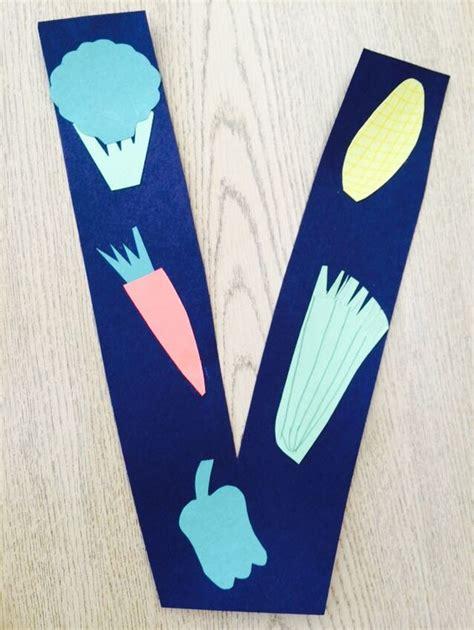 letter v vegetables activities letter v preschool craft v is for vegetables school
