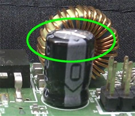 what causes bulging capacitors finding invisible issues with computer diagnostic software