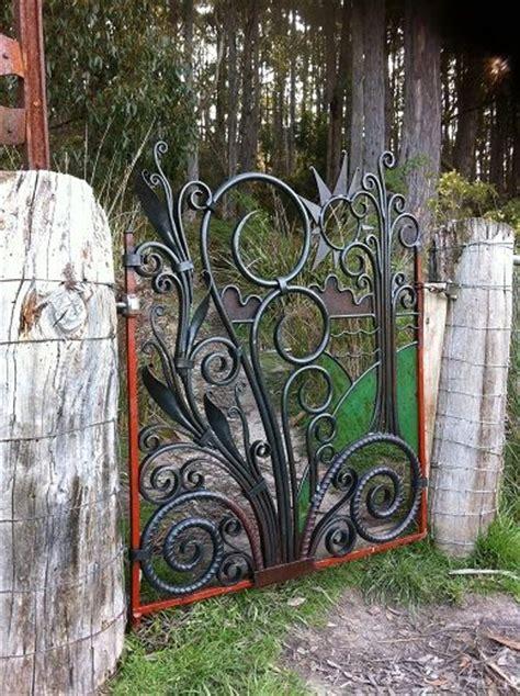 blacksmith elegant lakeside trees art panels by blacksmith best 25 metal garden gates ideas on pinterest small