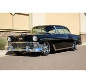1956 CHEVROLET BEL AIR CUSTOM 2 DOOR HARDTOP  Front 3/4 151693