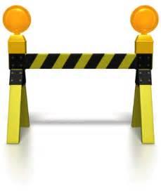 road block caution lights 8625 the visionhelp