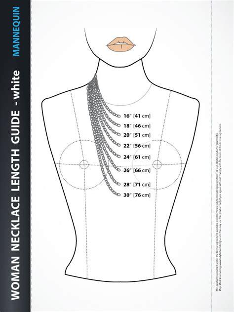 fashion design guide fashion design necklace length guide white lady