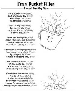 have you filled a bucket today grade onederful