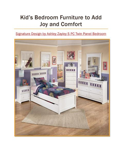 kid s bedroom furniture to add and comfort authorstream