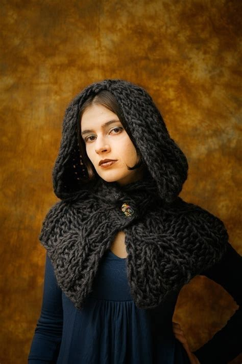 hooded hijab pattern 1000 images about crochet knit victorian goth steunk