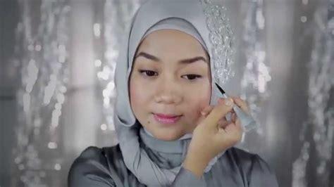 Eyeliner Wardah Gel tutorial eyeliner gel wardah