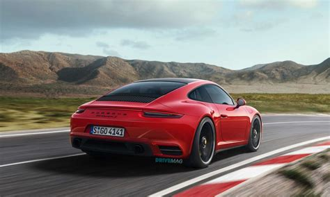 new porsche 2019 2019 porsche 911 992 rendered in evolutionary fashion