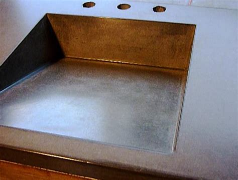 Foundation Kitchen Sink by Concrete Countertops 187 Cale Fylling Concrete
