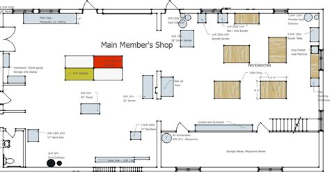 woodshop floor plans woodworker s gym opens near milwaukee woodworking network