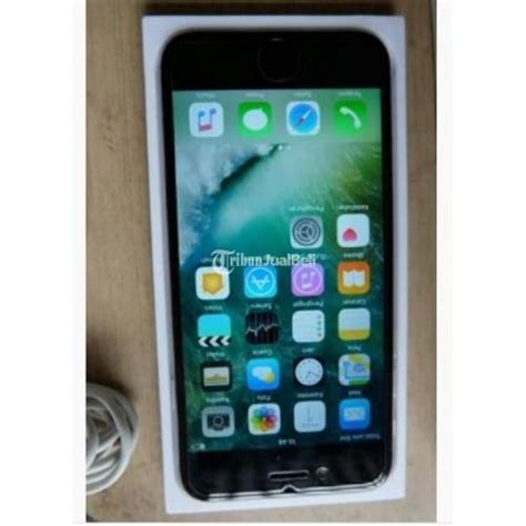 Handphone Second handphone apple iphone 6 16gb intern fu second harga murah