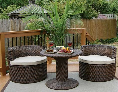 Small Patio Furniture Sets Roselawnlutheran Small Outdoor Patio Furniture