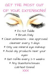 25 best ideas about eyelash extensions on