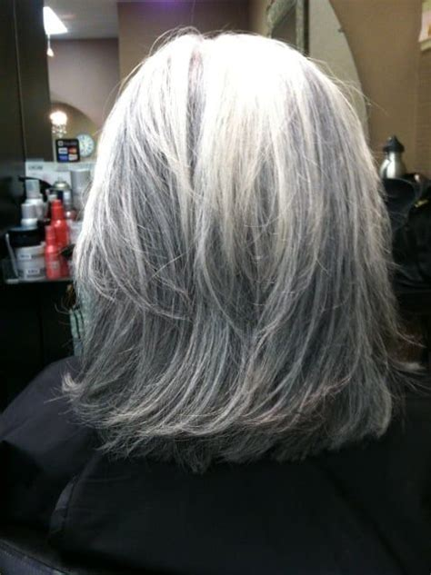 lowlights in white hair hair love pinterest wit haar white hair with lowlights go gray gorgeous pinterest