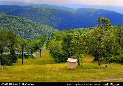 Blue Knob Ski Pa by Blue Knob Mountain Picture 032 July 18 2009 From Blue